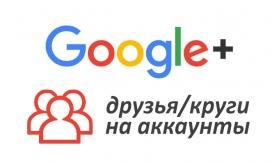 Накрутка Google+